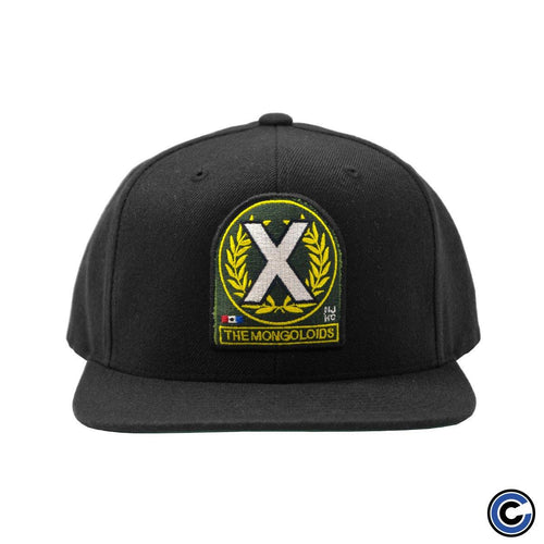 "Buy – The Mongoloids ""X Patch"" Snapback – Band & Music Merch – Cold Cuts Merch"