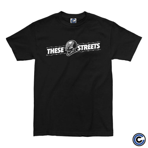 "These Streets ""Barbed Wire Skull"" Shirt"