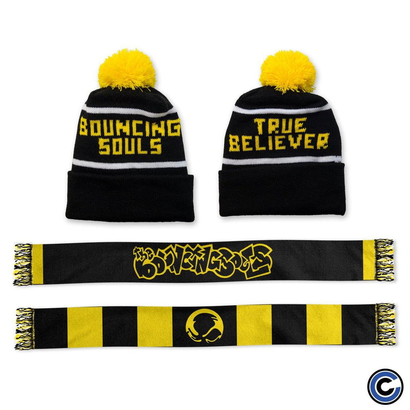 "The Bouncing Souls ""HISMSV"" Scarf & Beanie Bundle"