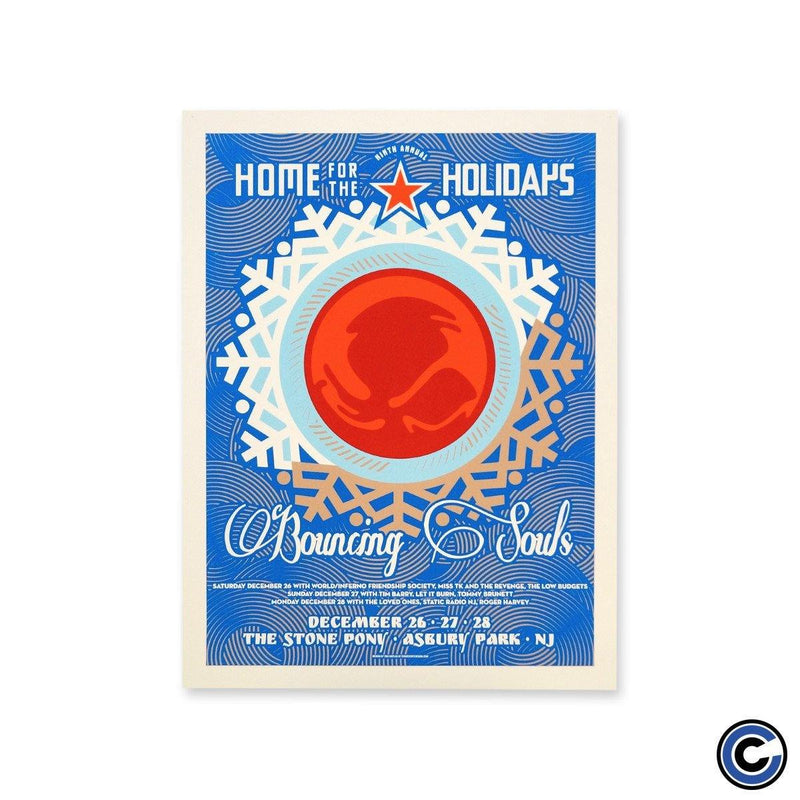 "The Bouncing Souls ""Home For The Holidays 2015"" Poster"
