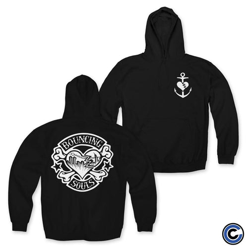"The Bouncing Souls ""Rocker Heart"" Pullover Hoodie"