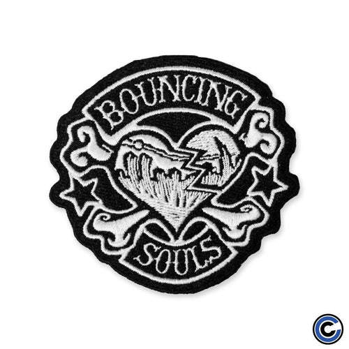 "Buy Now – The Bouncing Souls ""Rocker Heart"" Patch – Cold Cuts Merch"