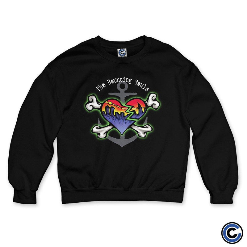 "The Bouncing Souls ""Skyline Heart"" Crewneck"