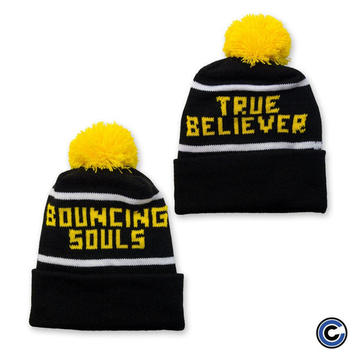 "The Bouncing Souls ""True Believer"" Pom Beanie"