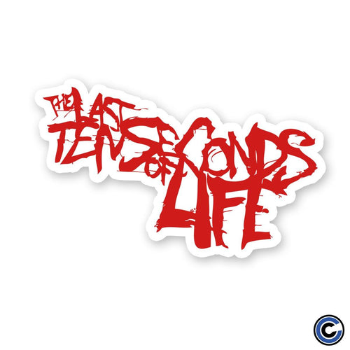 "The Last Ten Seconds Of Life ""Logo"" Sticker"