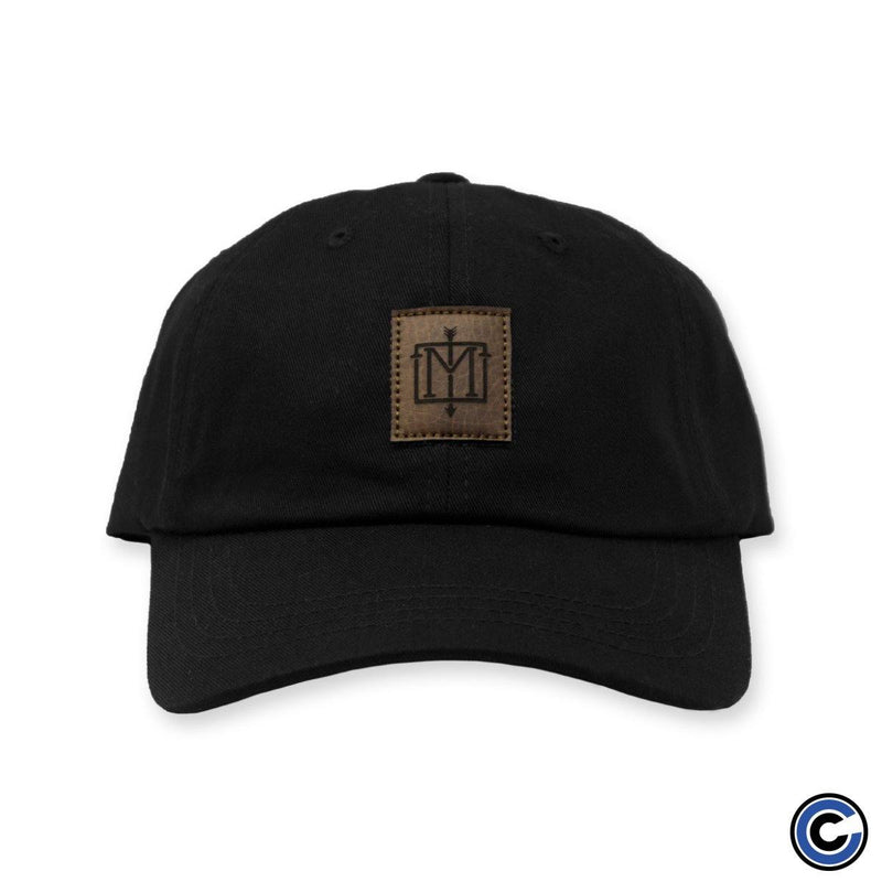 "The Menzingers ""Arrow Logo"" Leather Patch Hat"