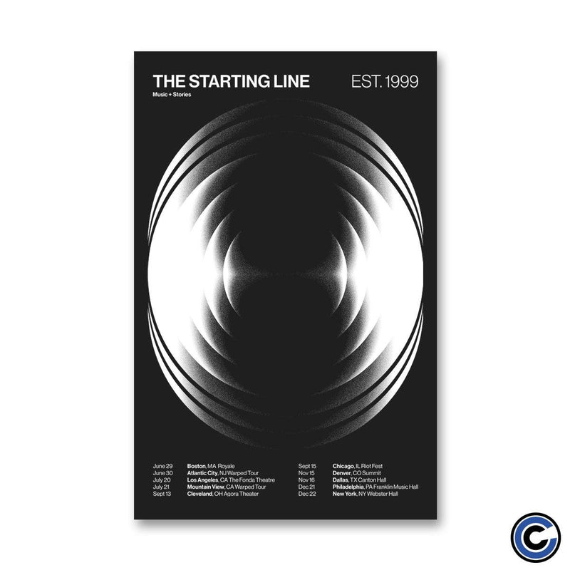 "The Starting Line ""19 Dates"" Poster"