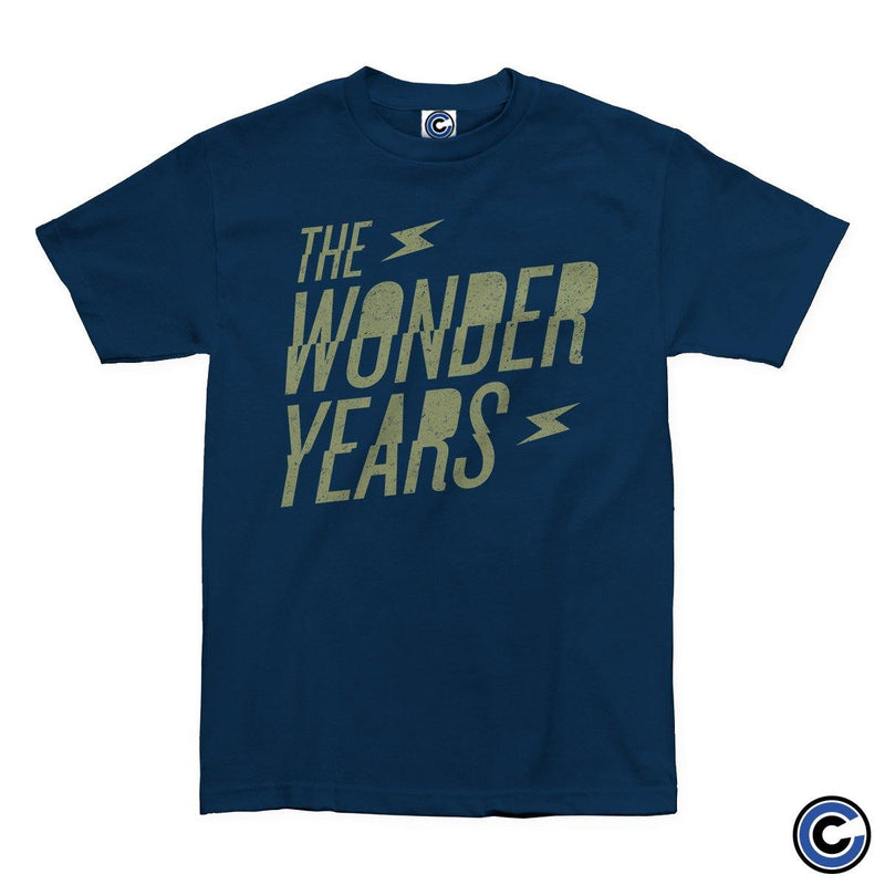 "Buy – The Wonder Years ""Bolt"" Shirt – Band & Music Merch – Cold Cuts Merch"