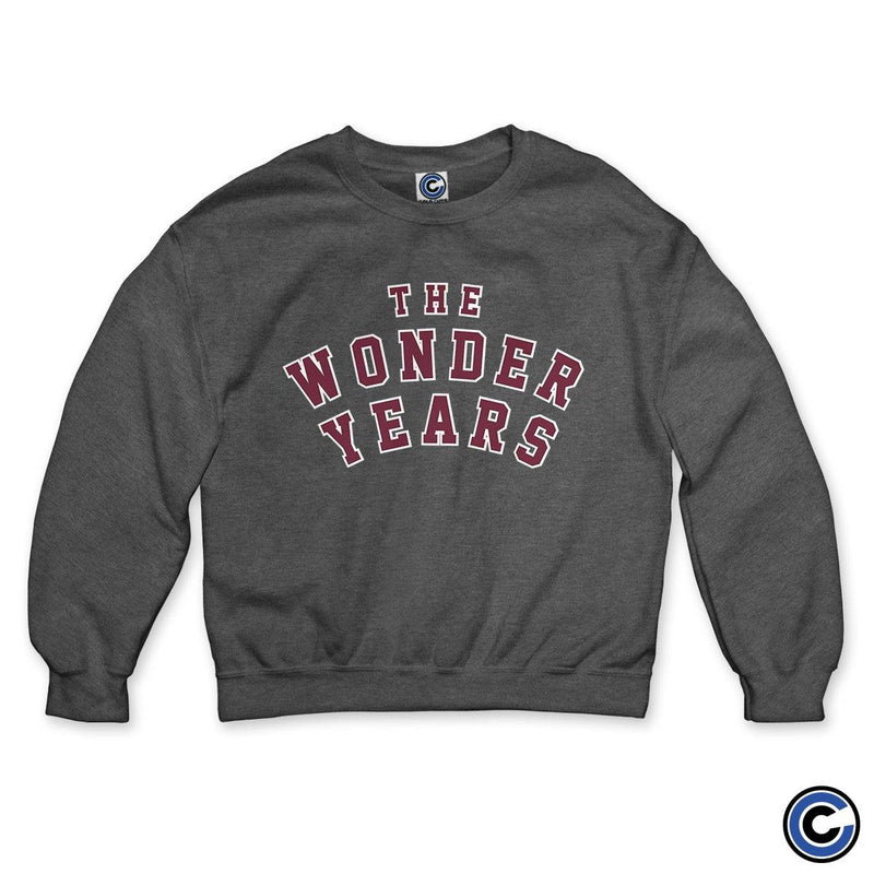 "The Wonder Years ""Collegiate"" Crewneck"