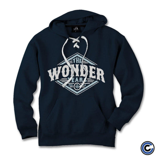 "The Wonder Years ""Diamond Badge"" Sports Lace Hoodie"