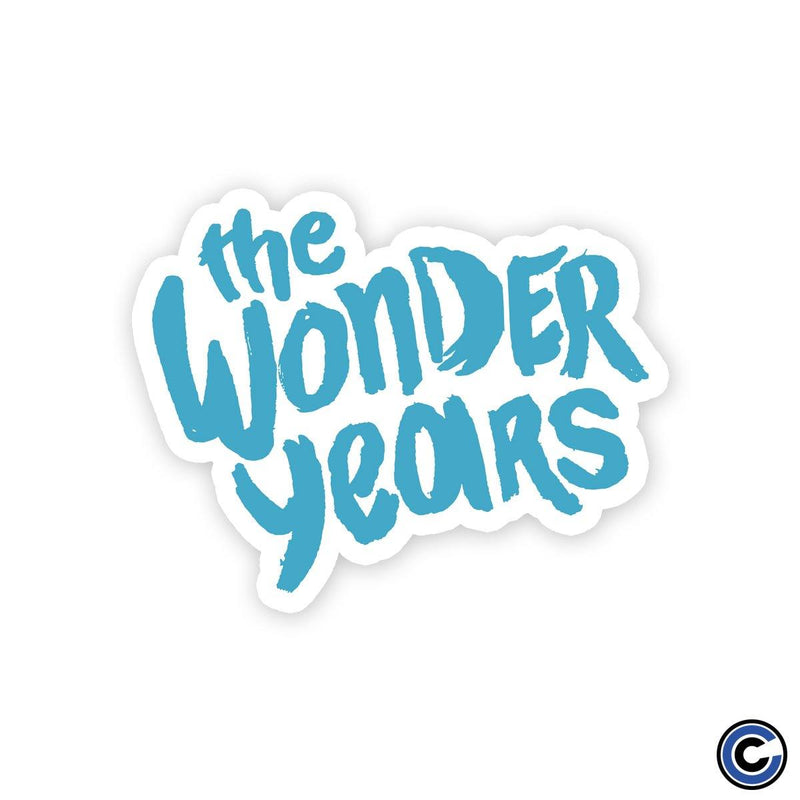 "The Wonder Years ""Logo"" Die Cut Sticker"