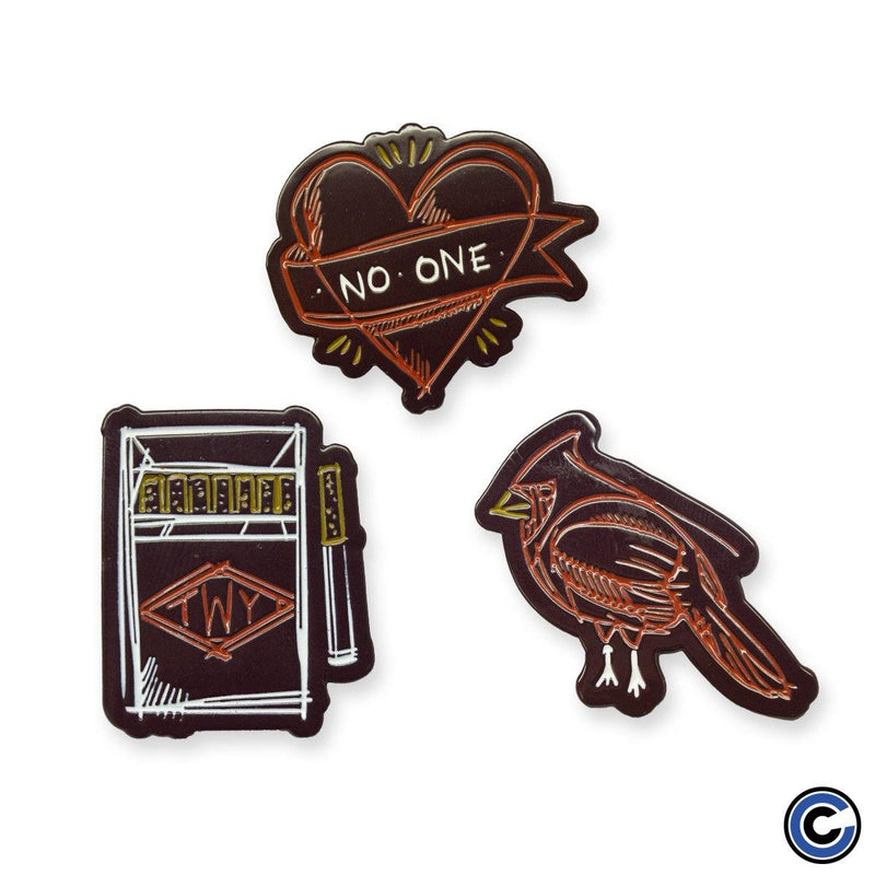 "The Wonder Years ""No Closer"" Enamel Pin Pack"