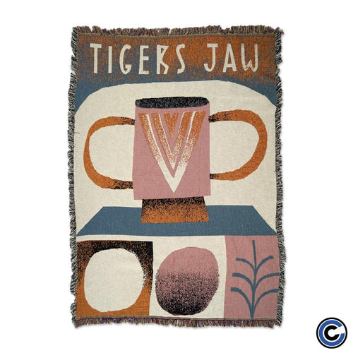 "Buy – Tigers Jaw ""Otto"" Blanket – Band & Music Merch – Cold Cuts Merch"