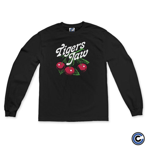 "Buy – Tigers Jaw ""Cherries"" Long Sleeve – Band & Music Merch – Cold Cuts Merch"