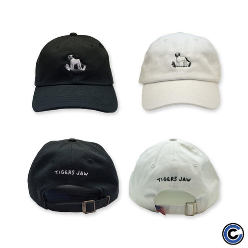 "Buy – Tigers Jaw ""Dog"" Hat – Band & Music Merch – Cold Cuts Merch"