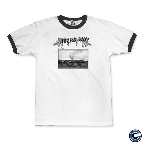 "Tigers Jaw ""Gazette"" Ringer Tee"