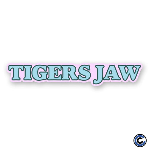 "Buy – Tigers Jaw ""Goudy"" Sticker – Band & Music Merch – Cold Cuts Merch"