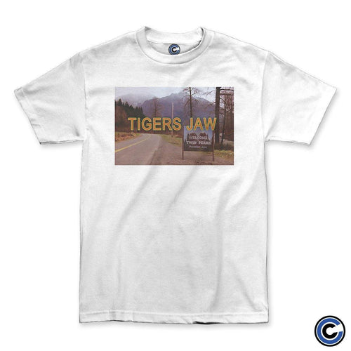 "Buy Now – Tigers Jaw ""Twin Peaks"" Shirt – Cold Cuts Merch"