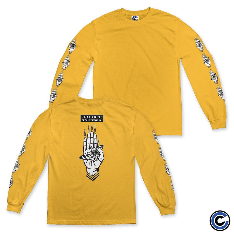 "Title Fight ""Hand"" Long Sleeve"