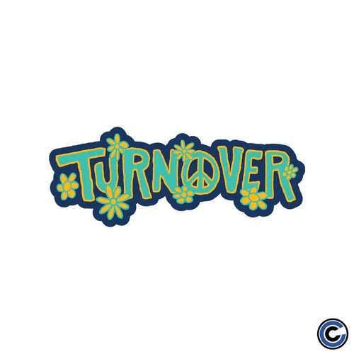 Turnover peace sticker