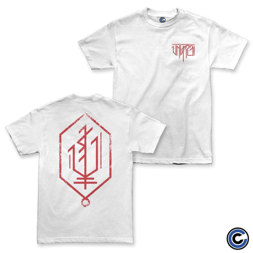 "Unit 731 ""Geo Logo"" White Shirt"