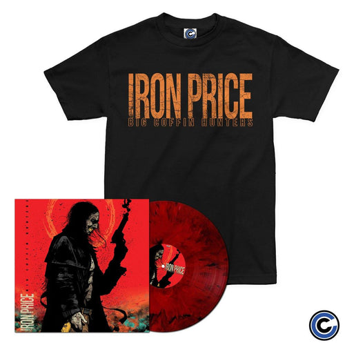 "Iron Price ""Big Coffin Hunters"" LP + Shirt Bundle"