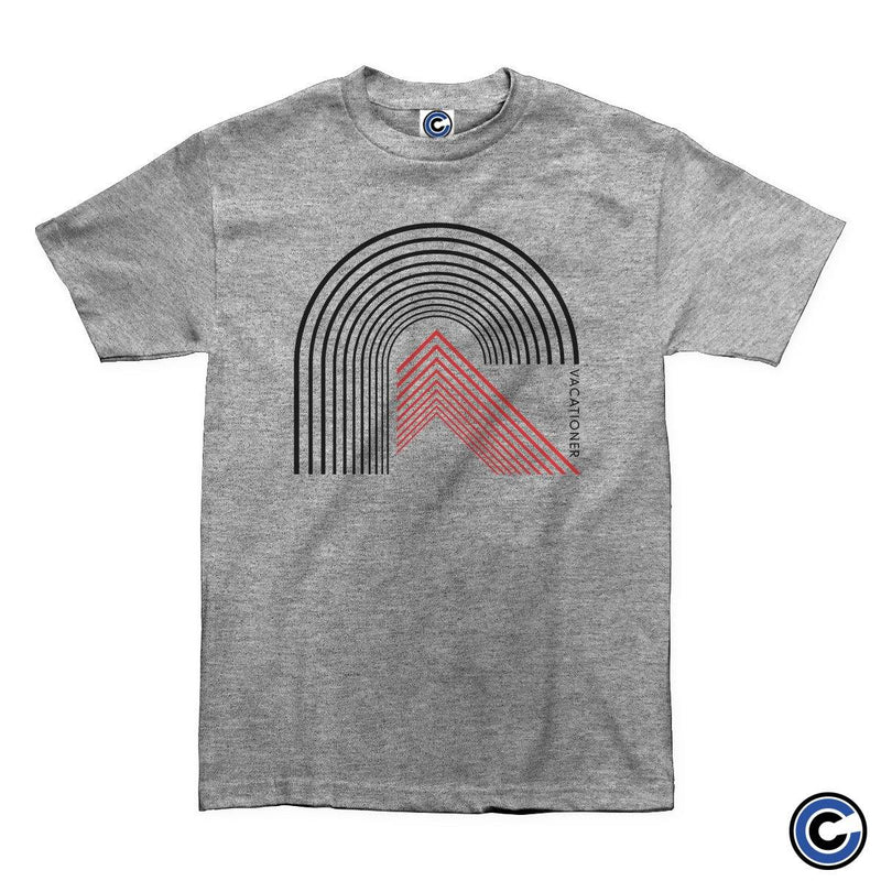 "Vacationer ""Curved Lines"" Shirt"