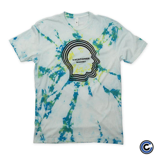 "Vacationer ""Mindset"" Tie Die Shirt"