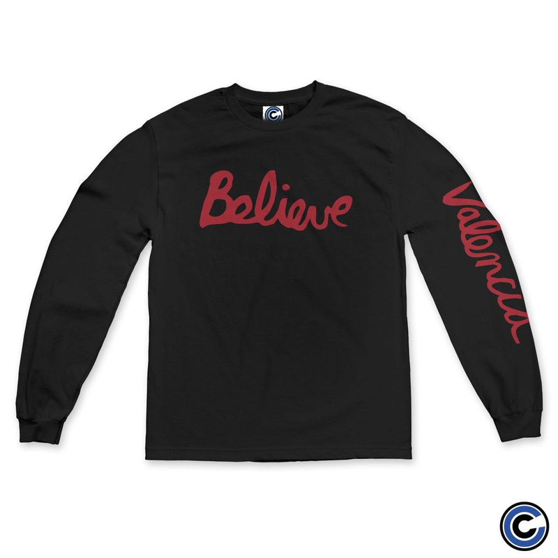 "Valencia ""Believe Cursive"" Long Sleeve"