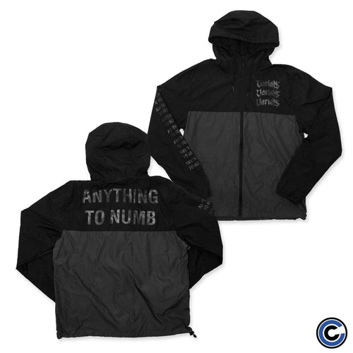 "Varials ""Anything To Numb"" Windbreaker"