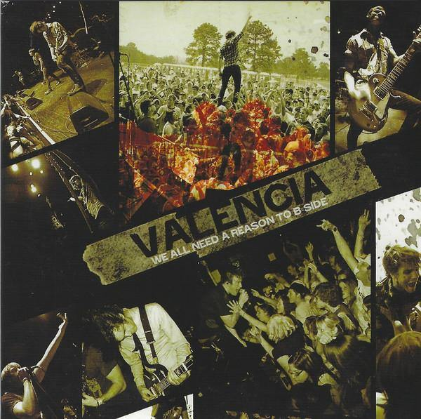 "Valencia ""We All Need A Reason To B Side"" CD"