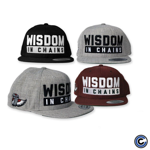 "Wisdom In Chains ""Owl"" Snapback"