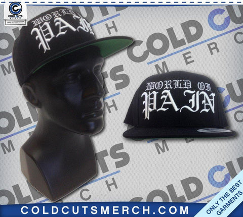 "World of Pain ""Pain"" Snapback Hat"