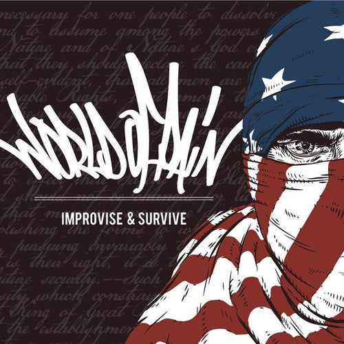 "World of Pain ""Improvise & Survive"" CD"