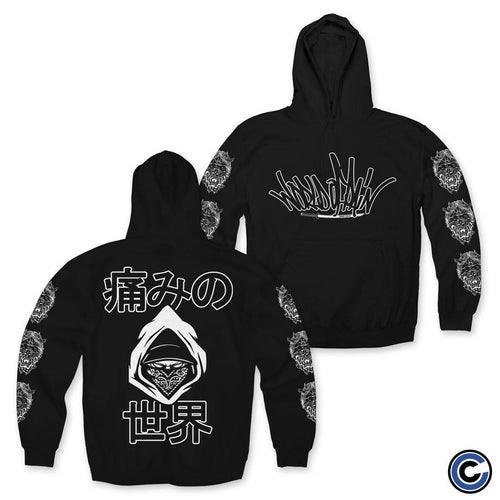 "Buy – World of Pain ""Japanese 19"" Hoodie – Band & Music Merch – Cold Cuts Merch"