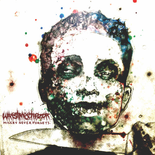 "Wristmeetsrazor ""Misery Never Forgets"" CD"