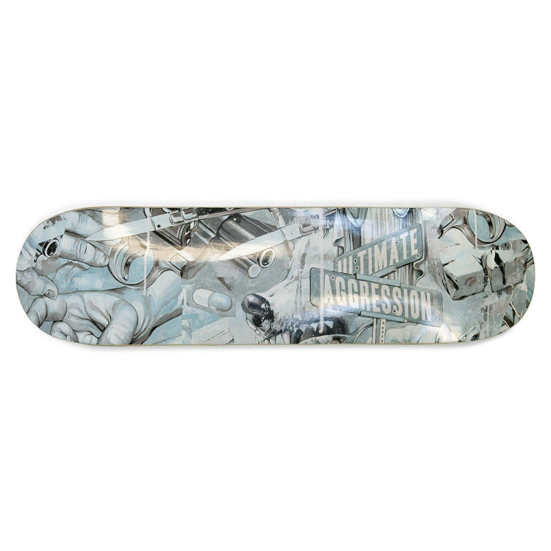 "Buy – Year of The Knife ""Ultimate Aggression"" Skate Deck – Band & Music Merch – Cold Cuts Merch"