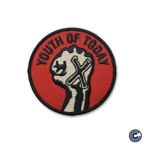 "Buy Now – Youth Of Today ""Fist"" Patch – Cold Cuts Merch"
