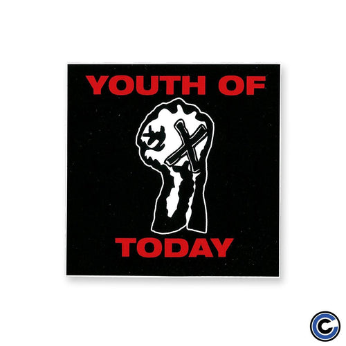 "Youth Of Today ""Fist"" Sticker"