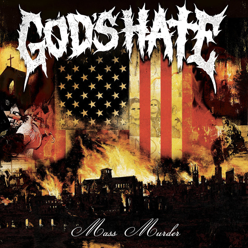"God's Hate ""Mass Murder"" 12"""