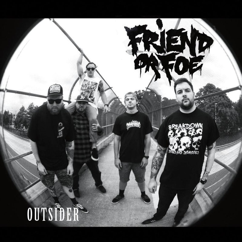 "Buy Now – Friend Or Foe ""Outsider"" 7"" – Cold Cuts Merch"