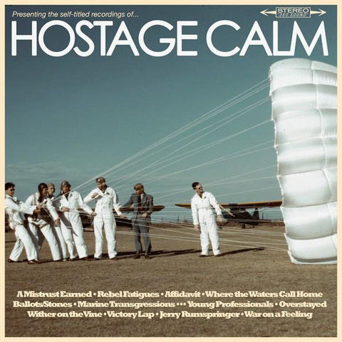"Hostage Calm ""Self Titled"" CD"