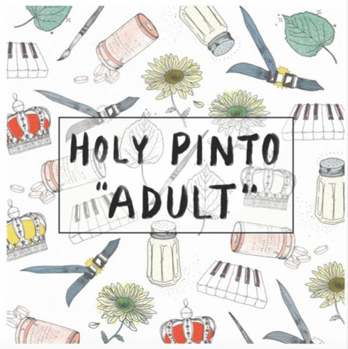 "Buy – Holy Pinto ""Adult"" 12"" – Band & Music Merch – Cold Cuts Merch"