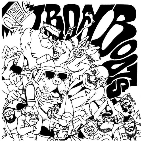 "Iron Boots ""Complete Discography"" 12"""