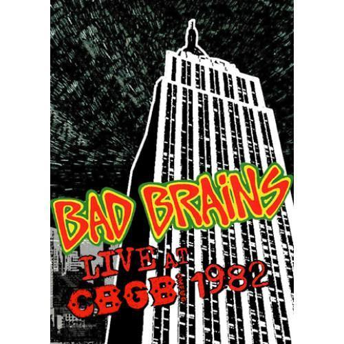 "Bad Brains ""Live at CBGB 1982"" DVD"