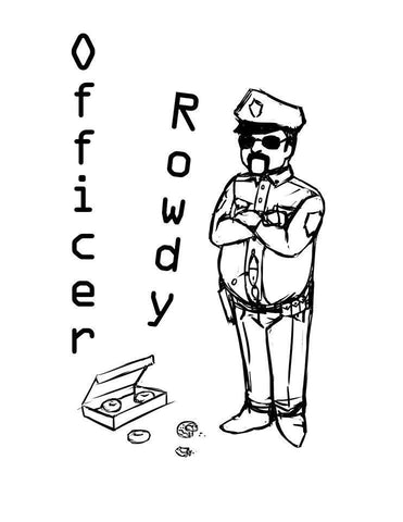 "Officer Rowdy ""S/T"" CD"