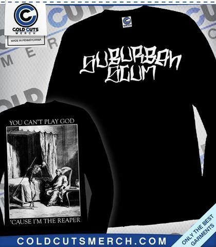 "Buy Now – Suburban Scum ""Reaper"" Long Sleeve – Cold Cuts Merch"