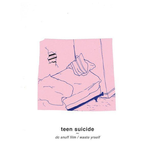 "Teen Suicide ""dc snuff film / waste yrself"" LP"