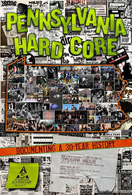 Pennsylvania Hardcore Documentary DVD
