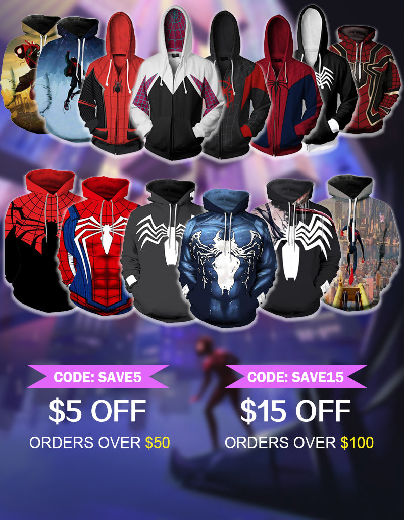 67ae69121 Cool Spider-Man Gwen Stacy Zip Up Hoodie for Adult and Kid – cinnvy